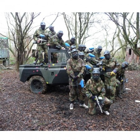 Paintball Sedgefield