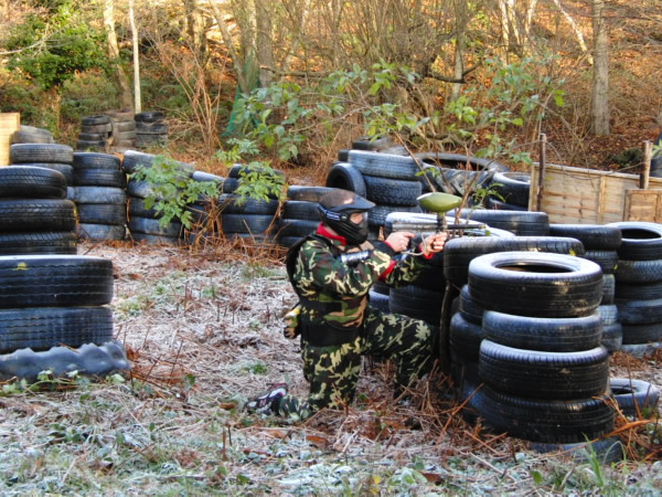 Paintball Battle, East Sussex