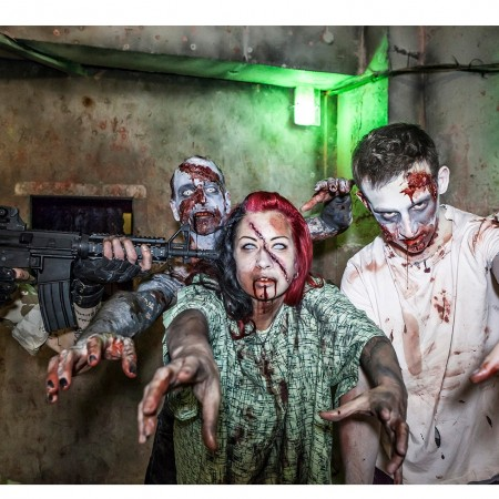 Zombie Survival Docklands, Greater London